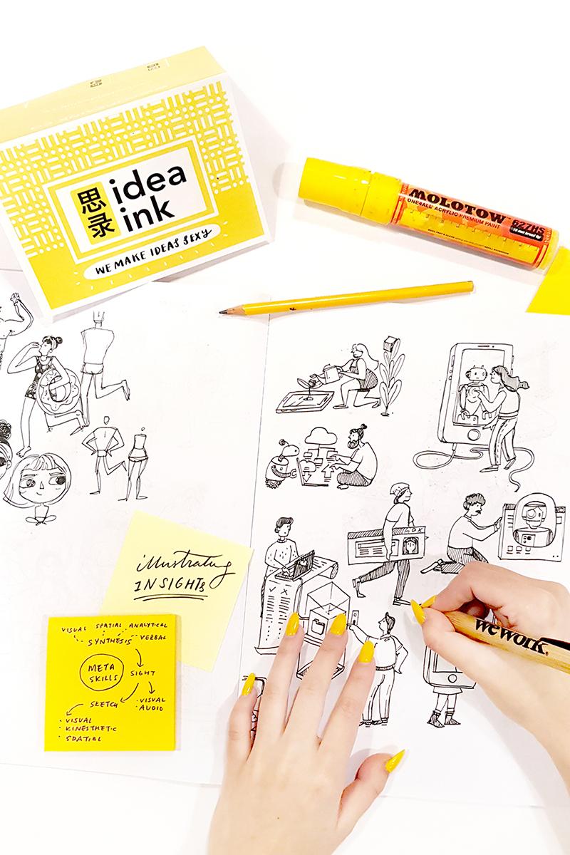Visual facilitation graphic recording workshops thinking creatively