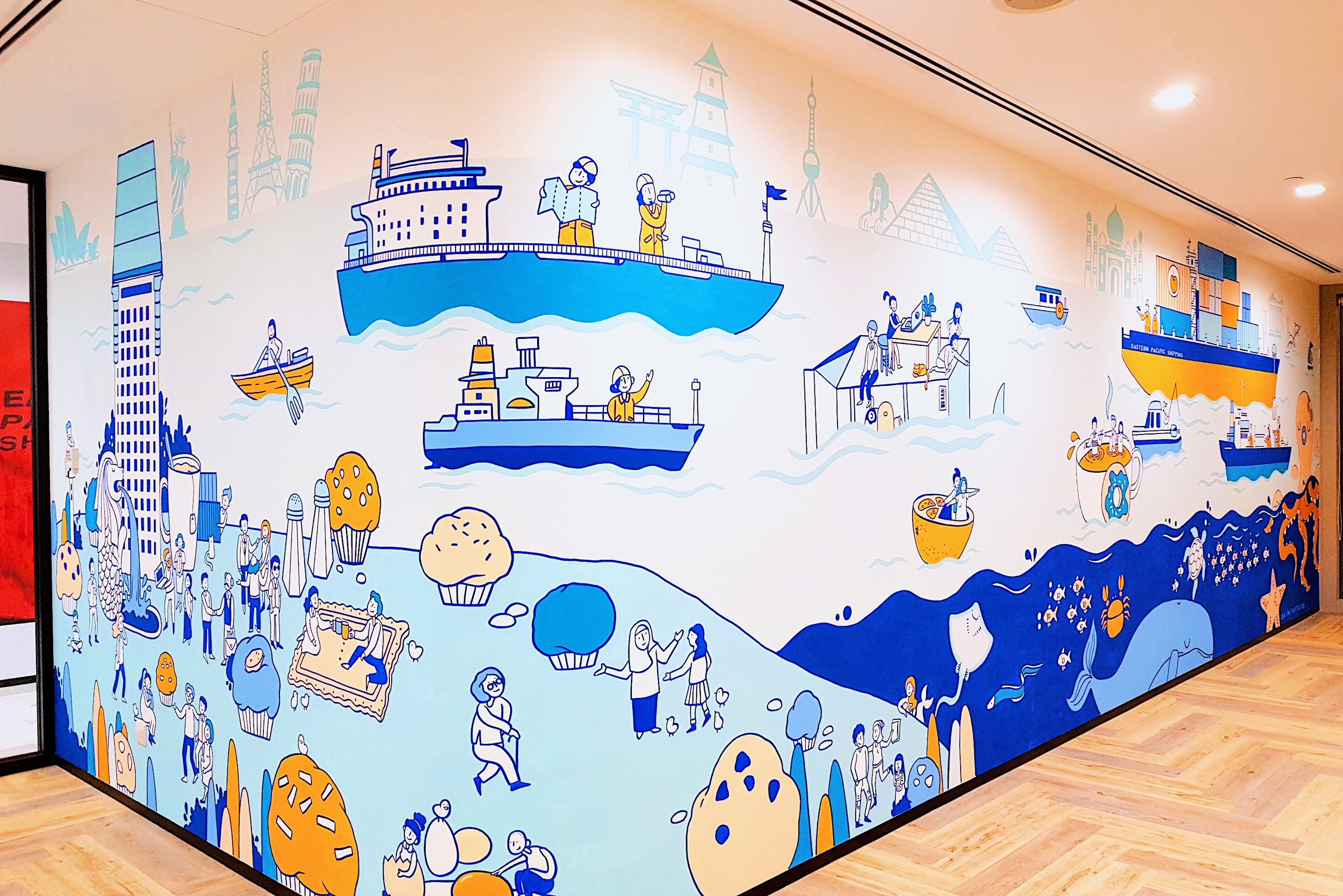 Idea Ink | EPS Mural