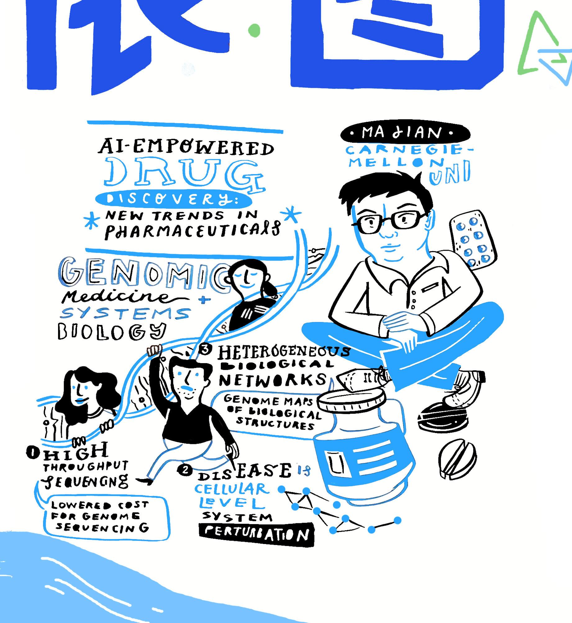 Ma Jian: AI Empowers Systems Biology and Genomic Medicine