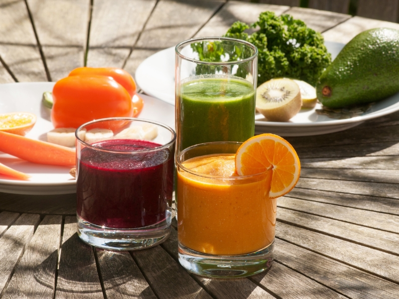 Green Goodness / Berry Beet Treat / Instant Energy Smoothies