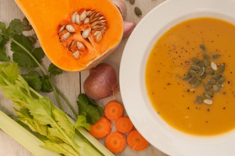 Squash and Lentil Soup