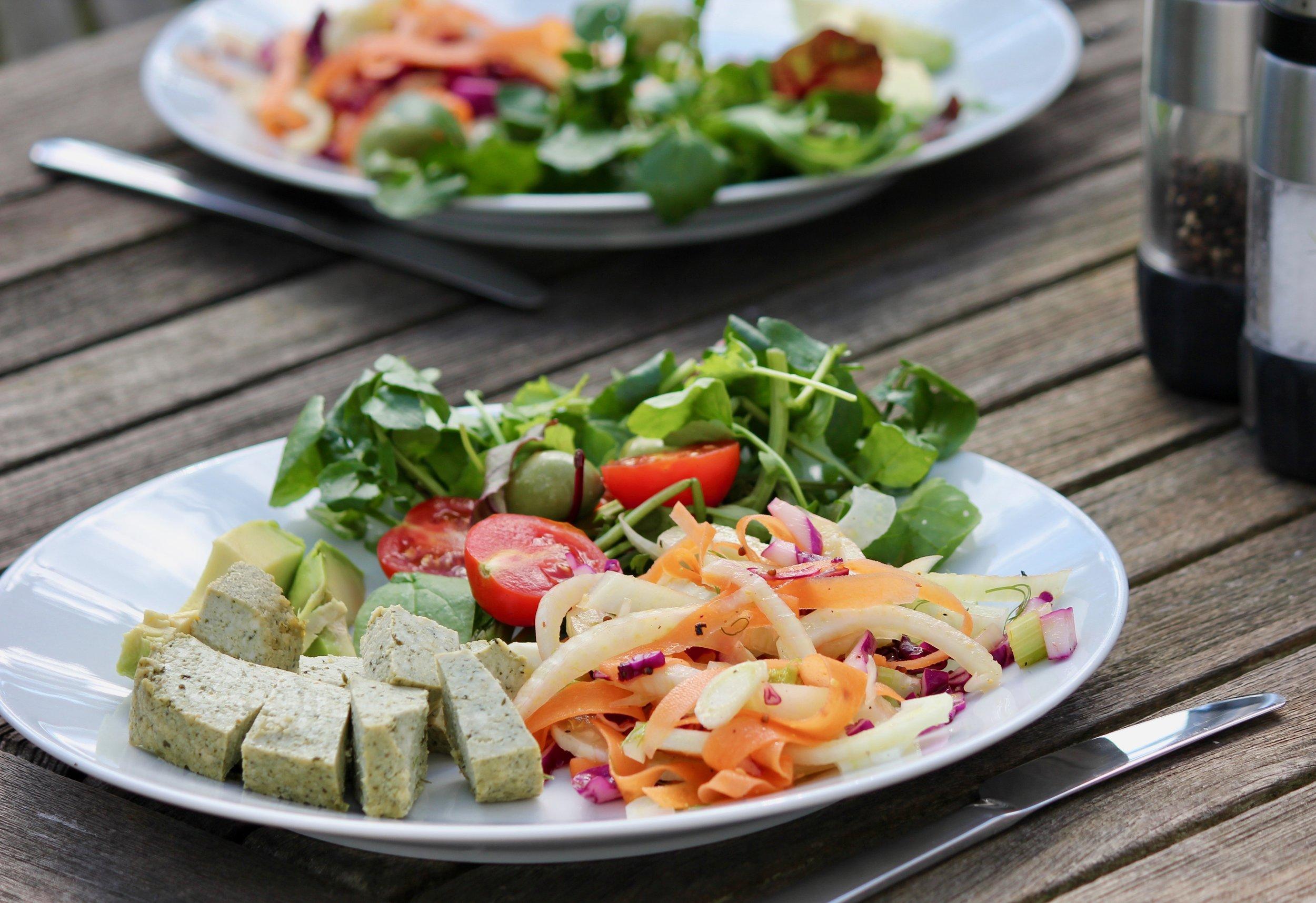 Hormone-Balancing Tempeh Salad