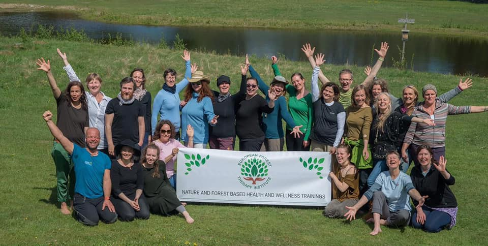 ECOWELLNESS CONSULTING LTD TRAIN THE FIRST GROUP OF CERTIFIED FOREST BATHING GUIDES IN SWEDEN ON BEHALF OF THE EUROPEAN FOREST THERAPY INSTITUTE