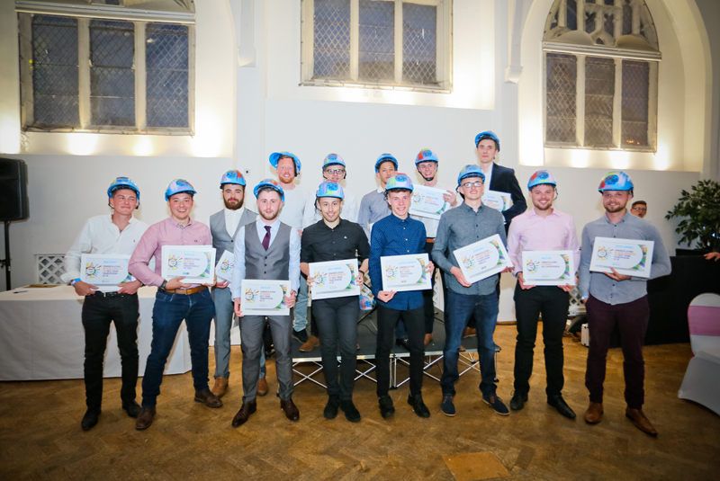 That's me! Second one in from the far left (wearing the pink shirt) Best Young Tradesperson 2017