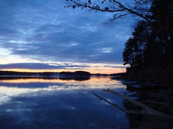 Great Bay, NH winter scene. Photo: Jennifer Carroll