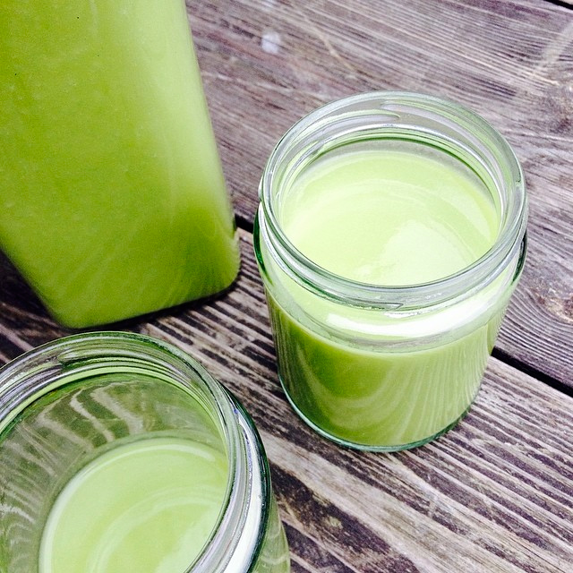 Our Green Goddess Smoothie