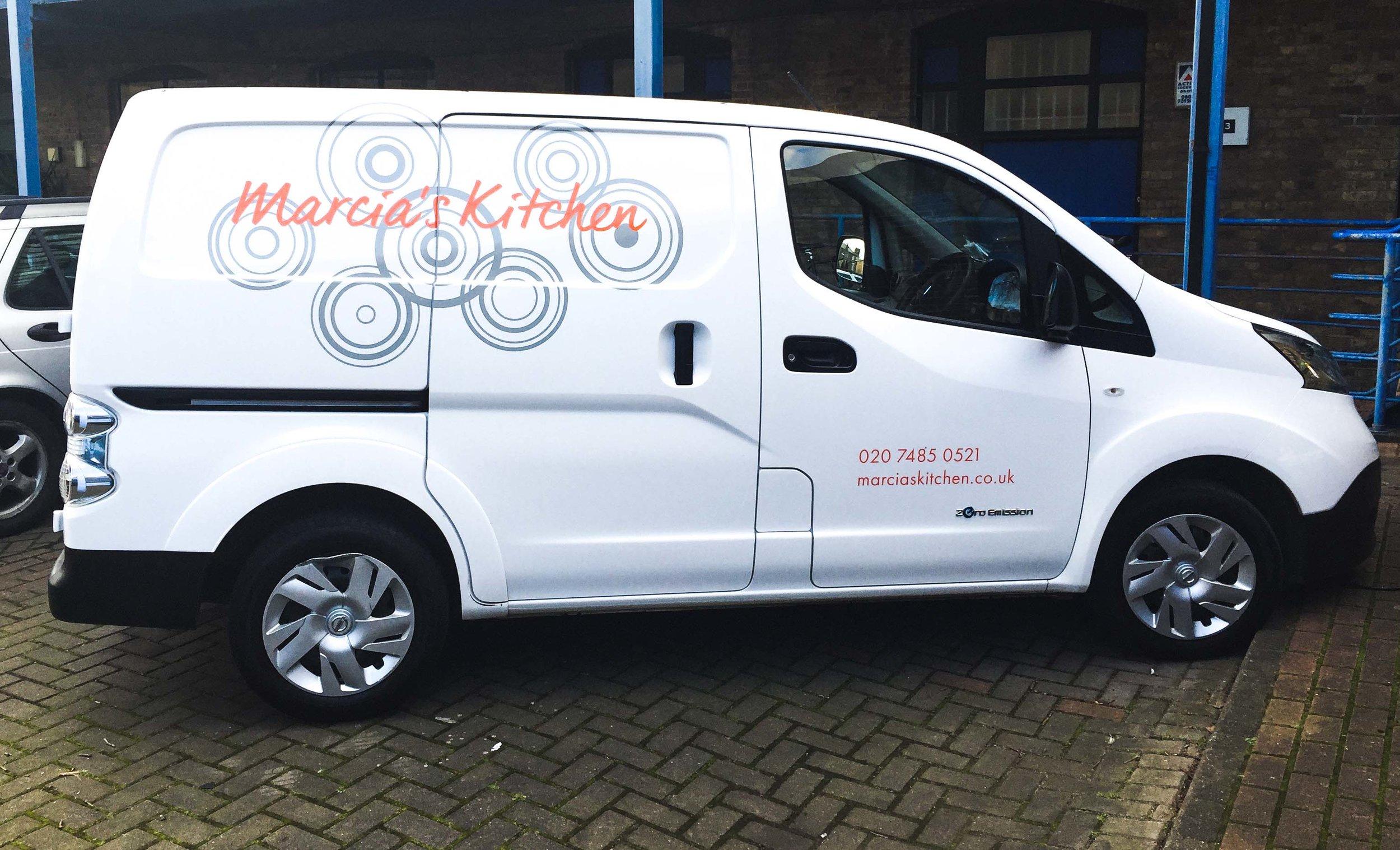 Marcia's Kitchen Van!