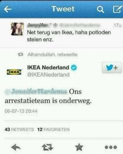 Hoe Ikea het goed doet :-)
