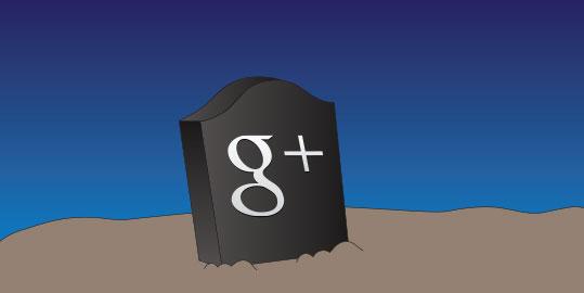 Na een gigantisch datalek was Google+ helemaal ten dode opgeschreven. (Foto via Adweek.com)
