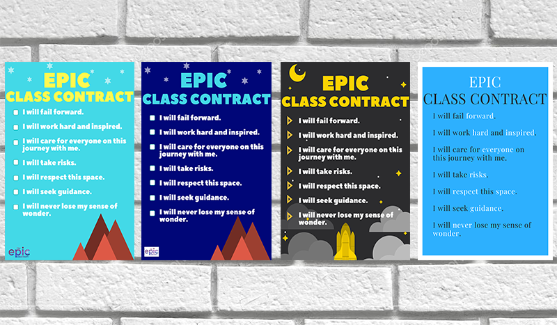 EPIC Class Contract -