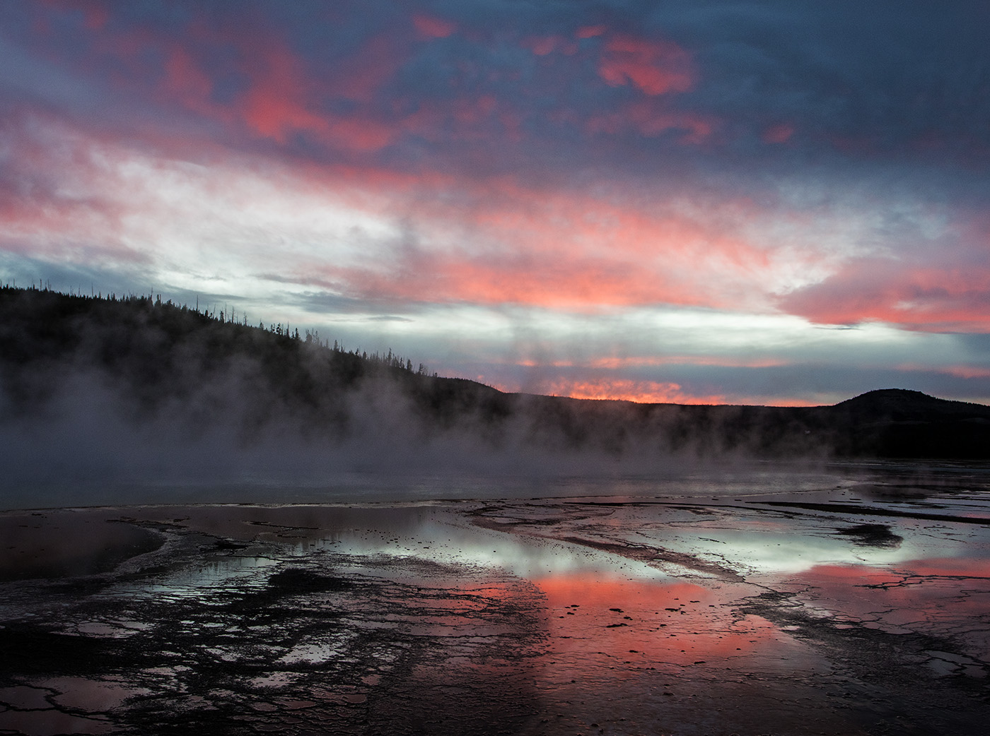 Sunset Sky at Grand Prismatic
