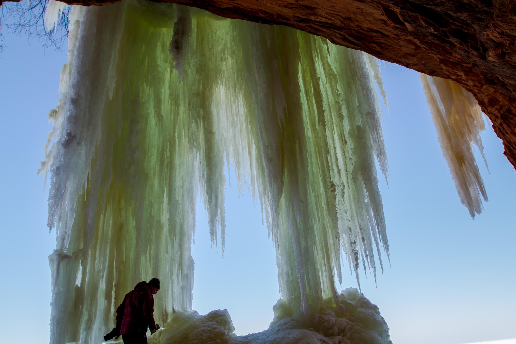 Lake Superior Ice Caves