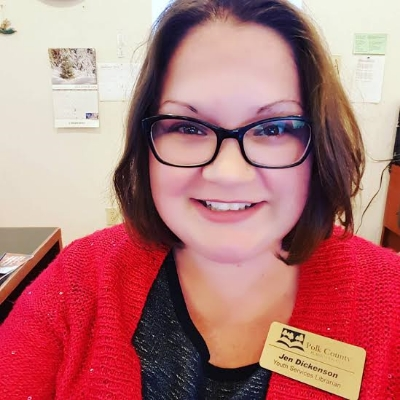 jen pace dickenson librarian polk county