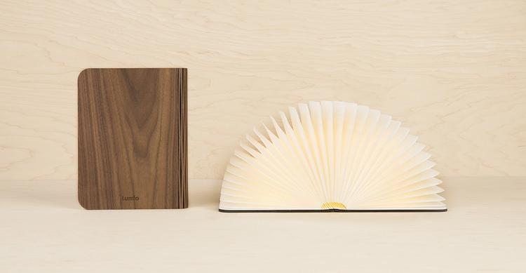 lumio lamp holiday gift guide books