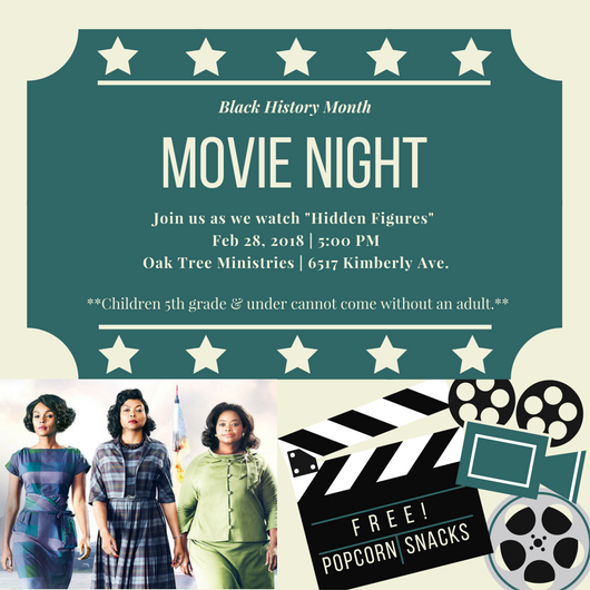 Green and Cream Illustrated Films Movie Night Invitation.png