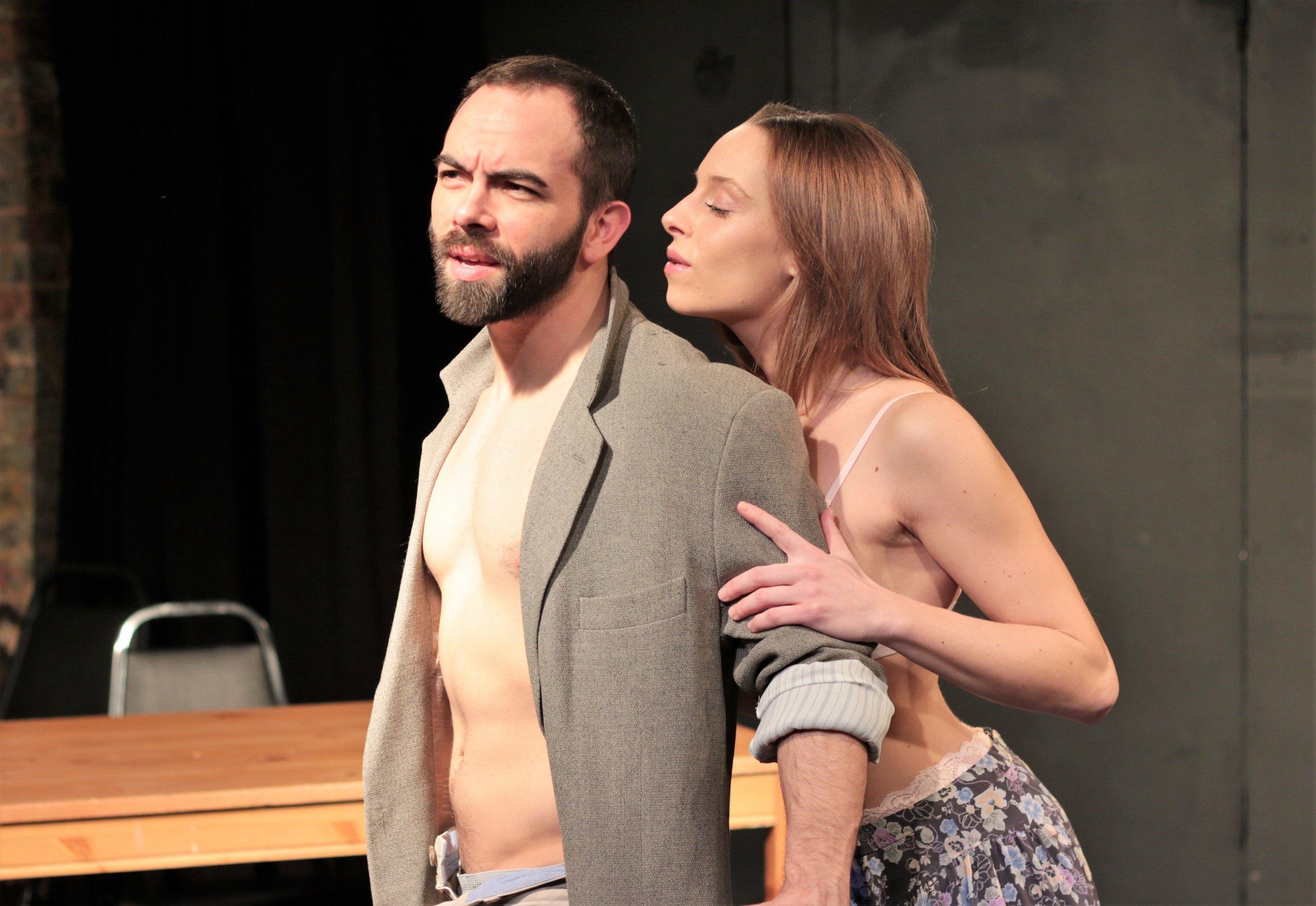 Jacob Sebastian as Porn Teacher, Sarah Raimondi as Ariel Cox