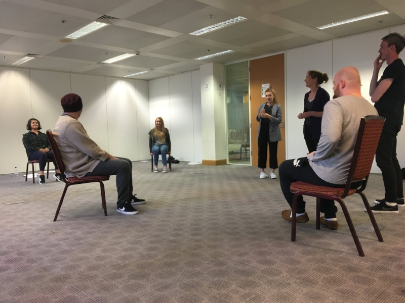 Workshop with Director Cressida Brown.