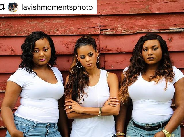 #tbt to the ultimate moment of #slayage  The birth of a new era of glamorous! @dhfglam helping ALL types of women channel their inner and outer #beauty 📸 @lavishmomentsphoto  #squadgoals #beautiful #bestfriend #love #luxurious #beautiful #indianhair #brazilianhair #blackgirlmagic #beyonce #wholeteambad