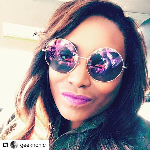 Jet setting, slaying, and designing drones are a few of this #beauties many talents! @geeknchic #Repost @geeknchic with @repostapp ・・・ When the bestie says he will be late for lunch and you get on snap and realize it's because he is shopping at his favorite hidden gem 🙄. What else do you do other than take selfies? #FashionRulesEverythingAroundMe  #DontHateParticipate #HighMaintenanceHam 💅🏽#DefinitionofOPULENCE #DHFglam #luxury #hairextensions #slays