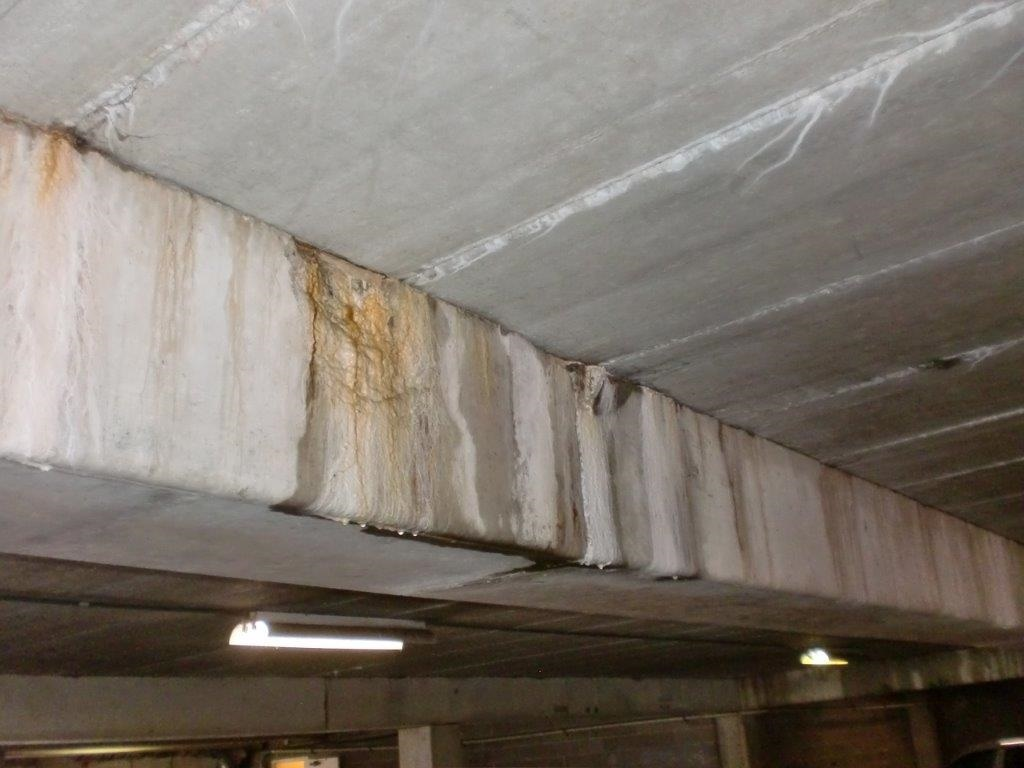Parking structure condition assessment structural engineering indianapolis, IN