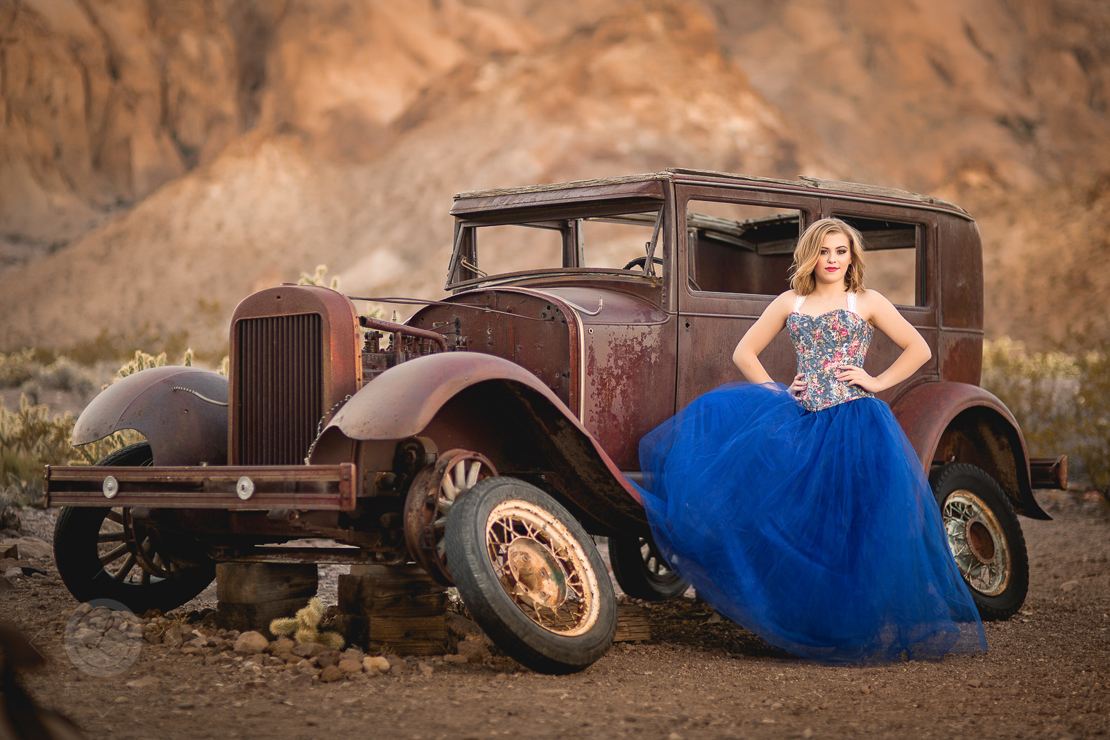 Myah Dalby, 2019 Senior model, Vegas Destination
