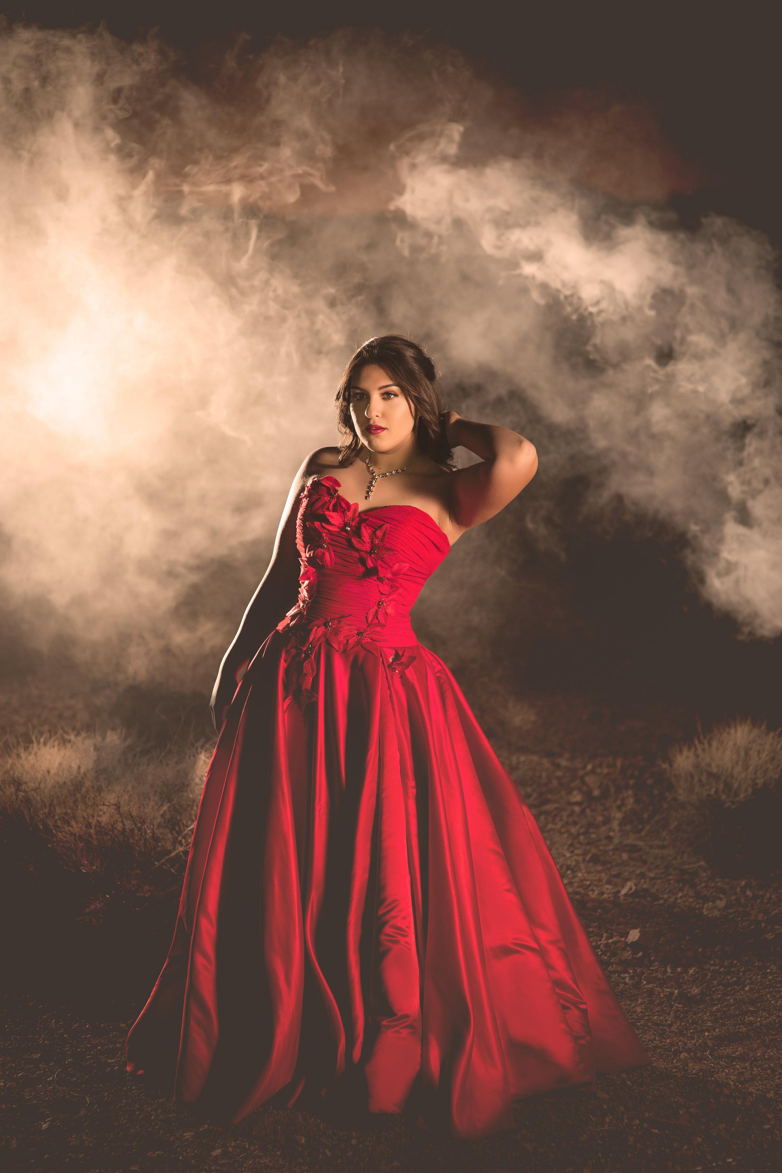 Alma Cristina, 2019 Senior model, Concept shoot