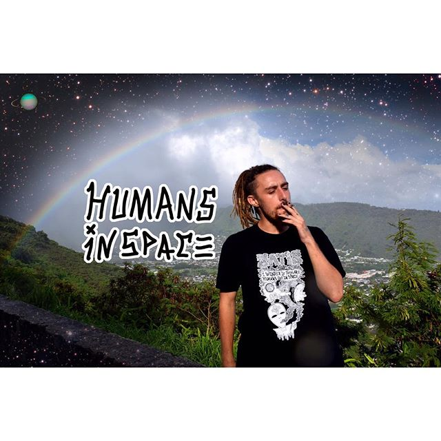 """Humans in space"" up on zatisskates.com @psychedelics_and_skateboards 📸 @zzzlance"