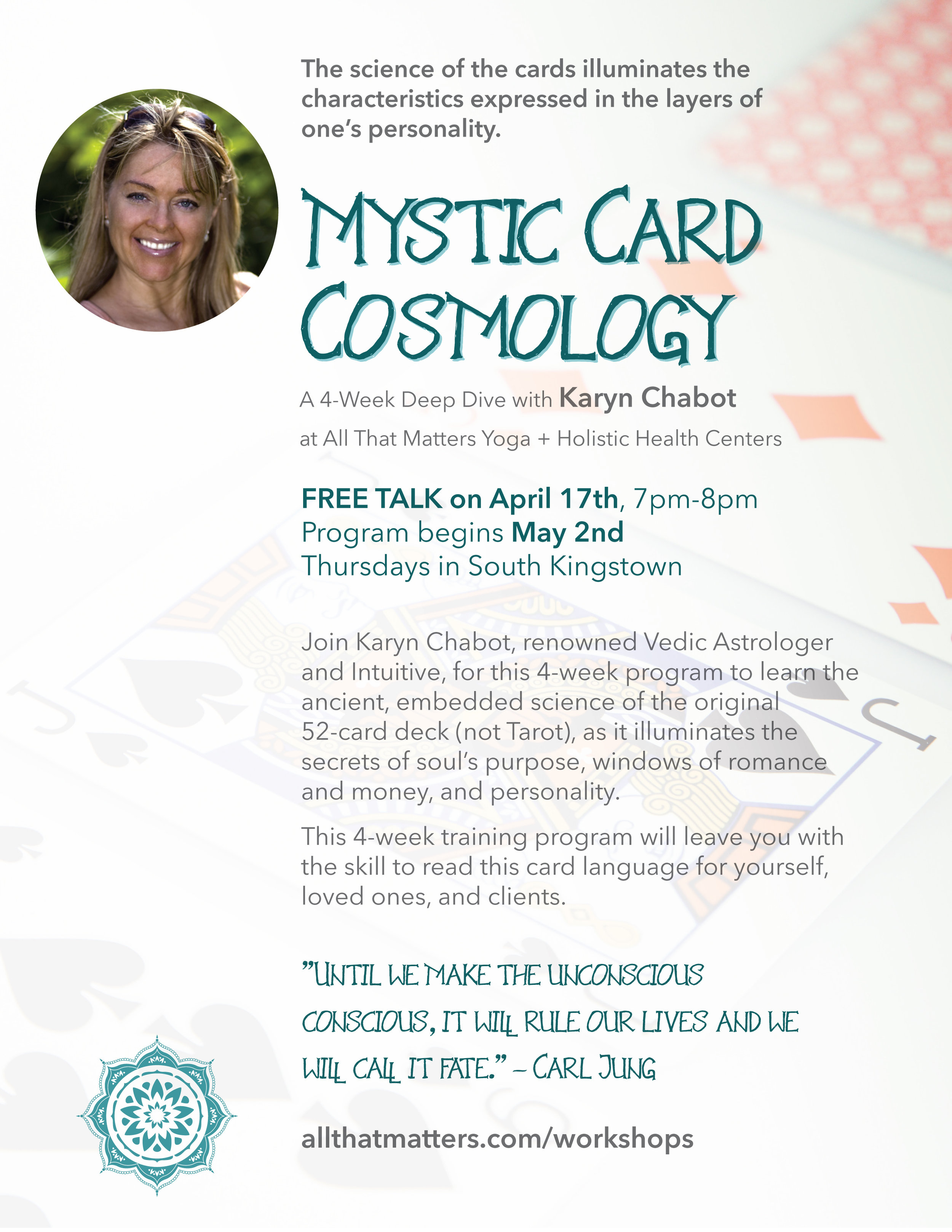 Jyotish Vedic Astrology & Card Cosmology Readings, Classes and Webinars