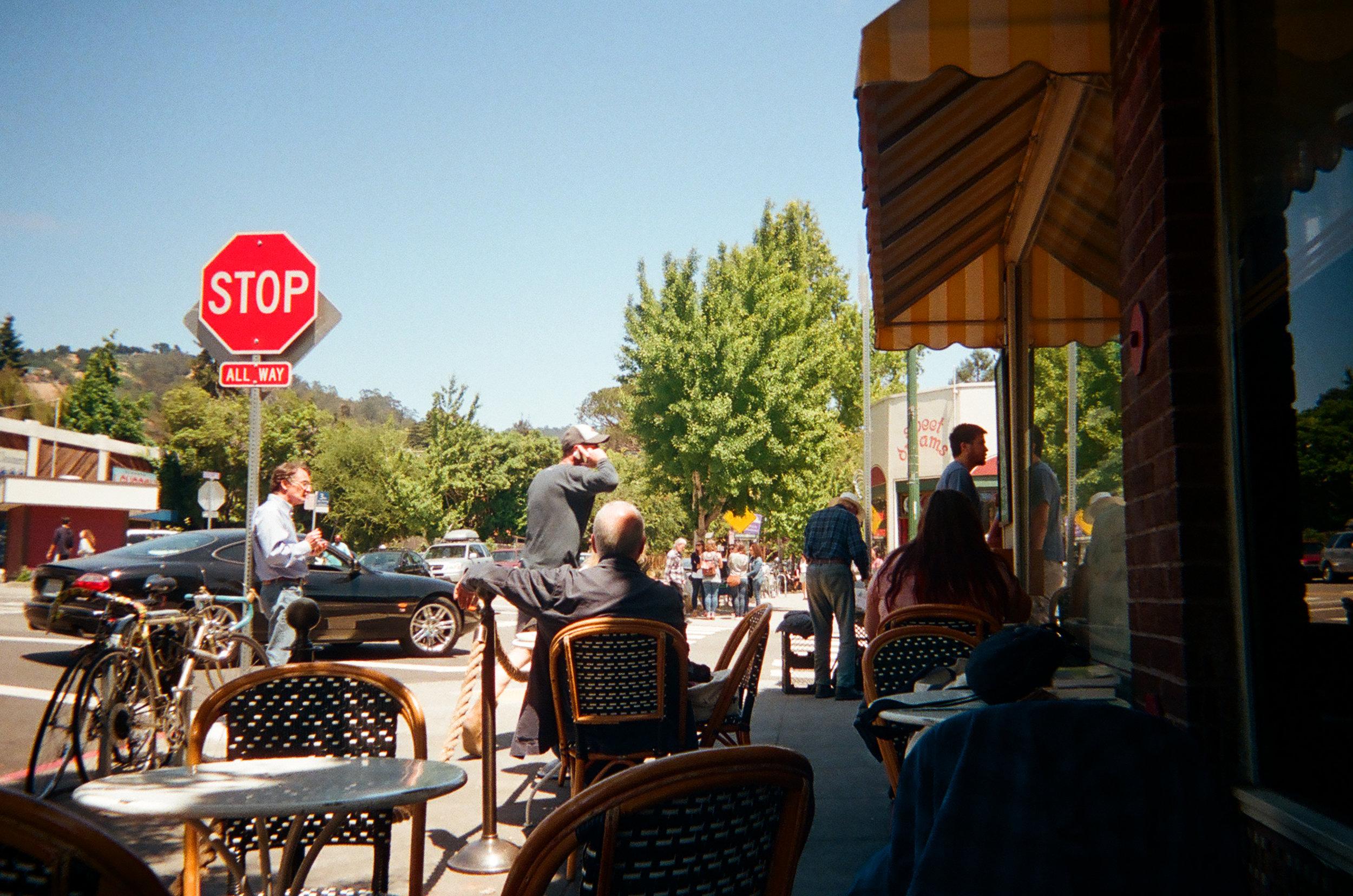 Elmwood Cafe . Berkeley, CA.