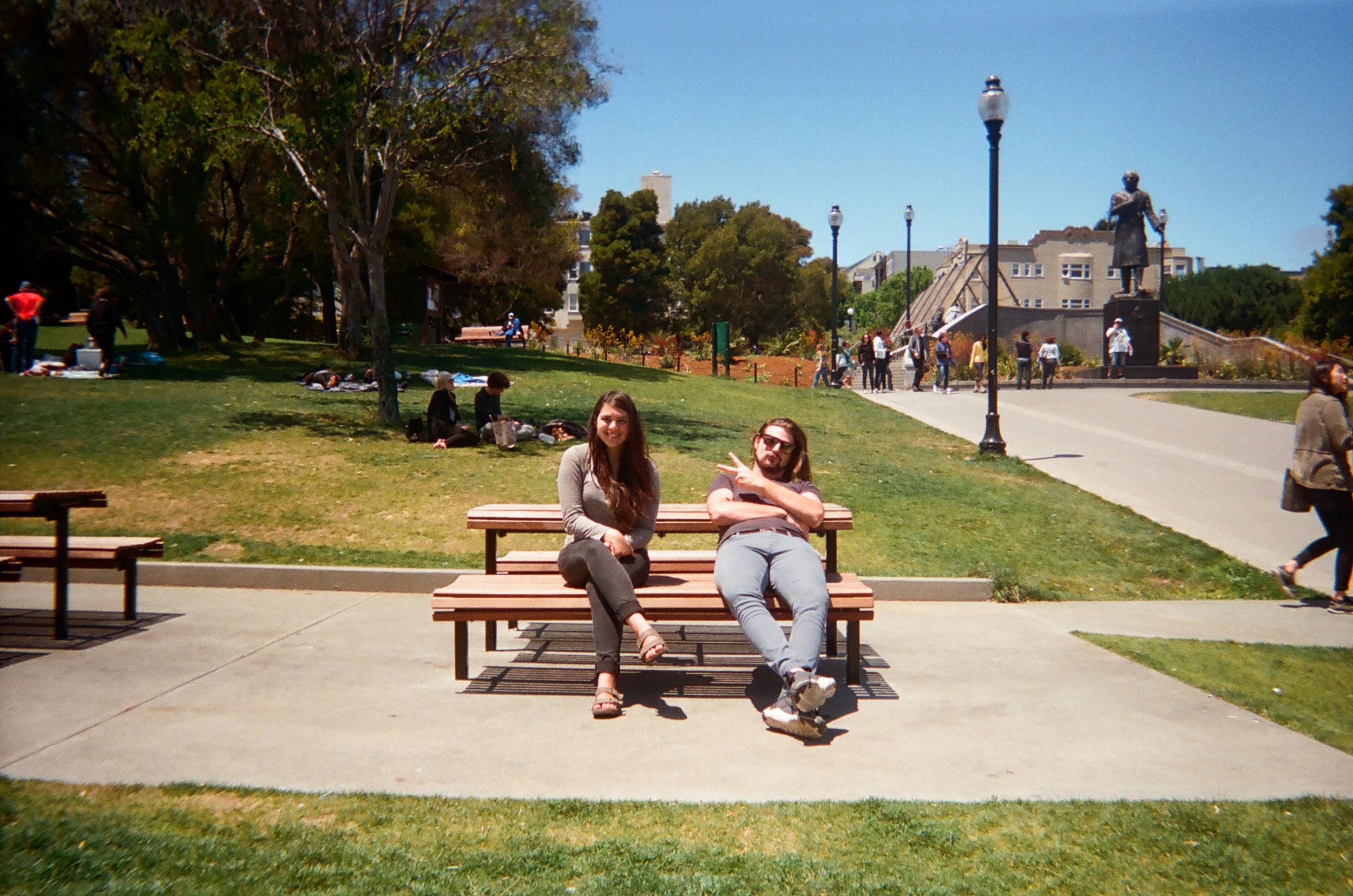 B + L at Dolores Park . San Francisco, CA.