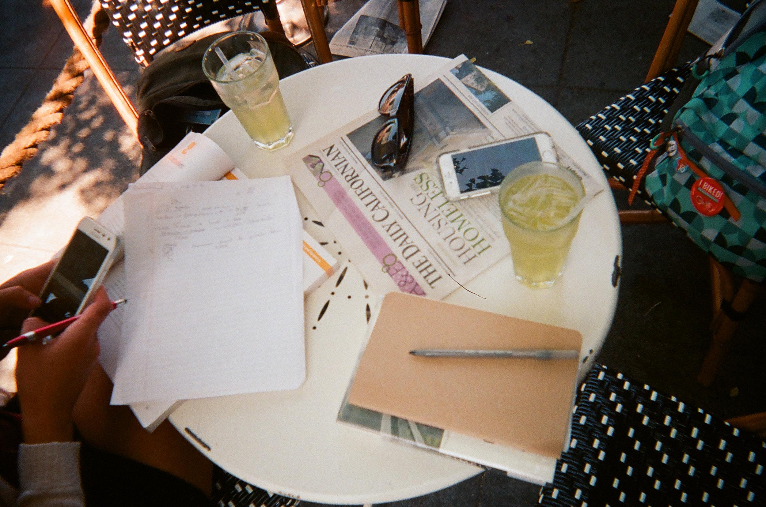 Saturday Afternoon Chill.  Berkeley, CA.