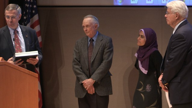 Teachers and Volunteer Receive Award from the AAAS Senior Scientists and Engineers Program