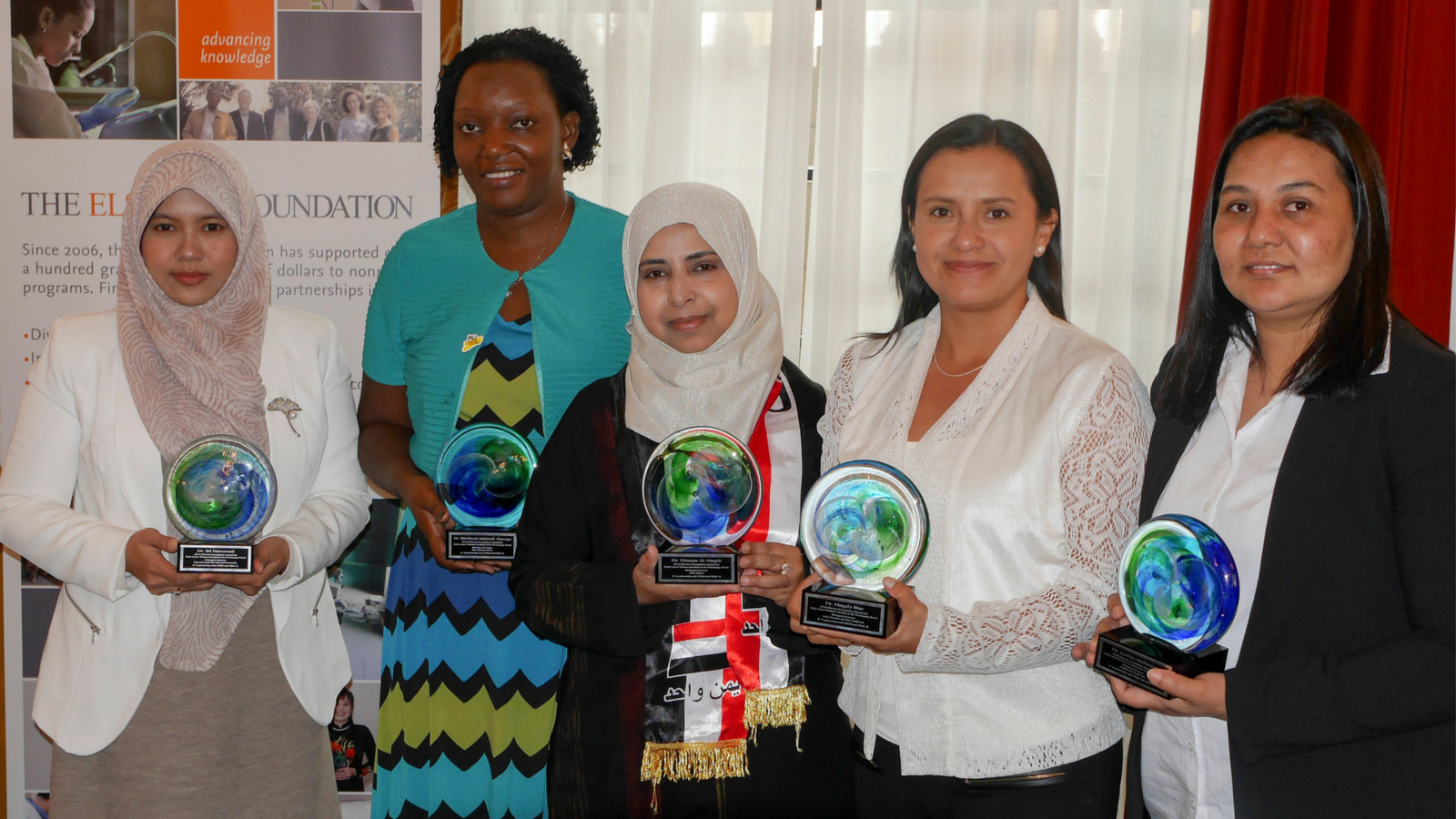Elsevier Foundation Awards Women Scientists From Developing World at AAAS Annual Meeting