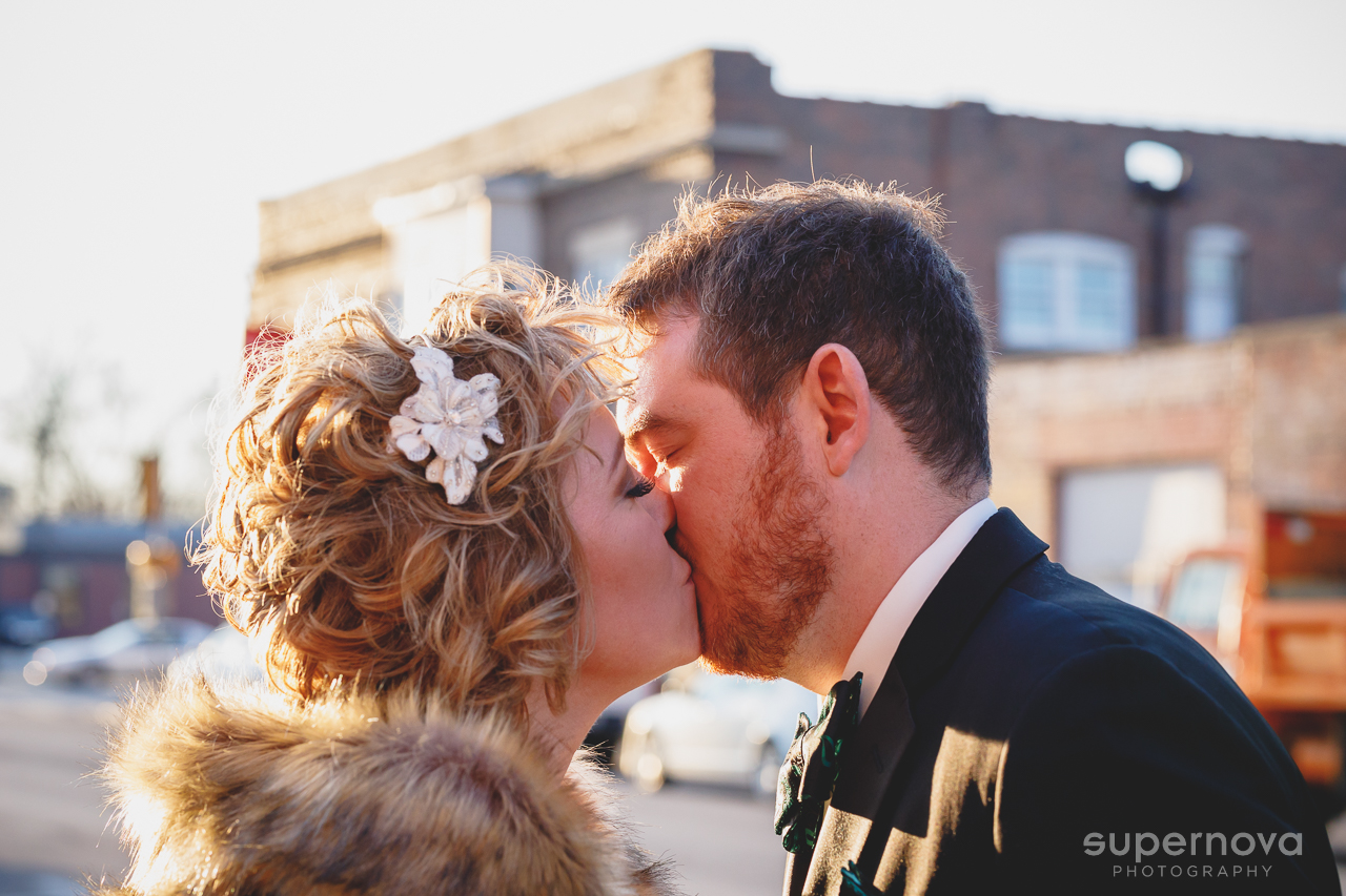 Jodi & Tom know how to throw a party! Their St Patrick's Day wedding celebration at  The Silver Fox  in Streator, IL included horse drawn carriage rides, a photo booth, dueling pianos by  Felix and Fingers , and dancing until the wee hours.