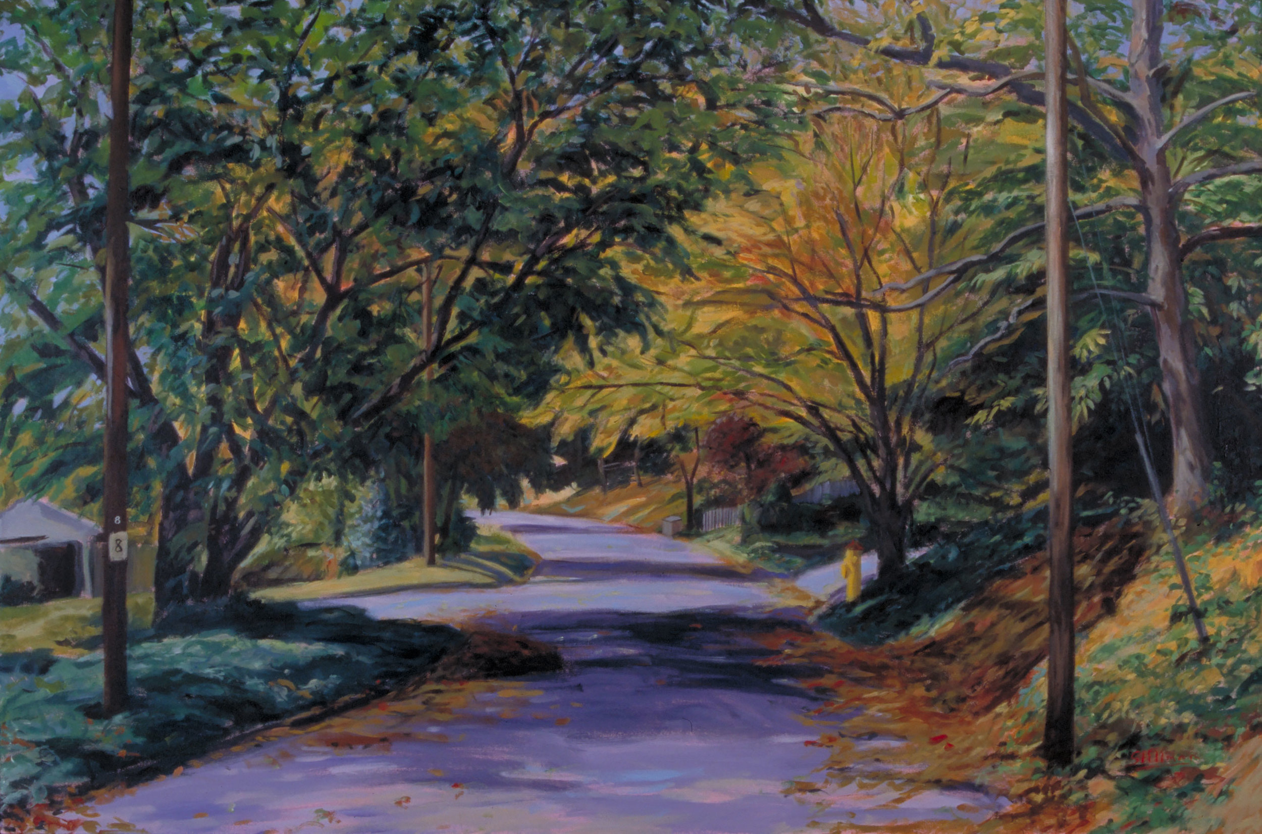 Autumn Road, sold