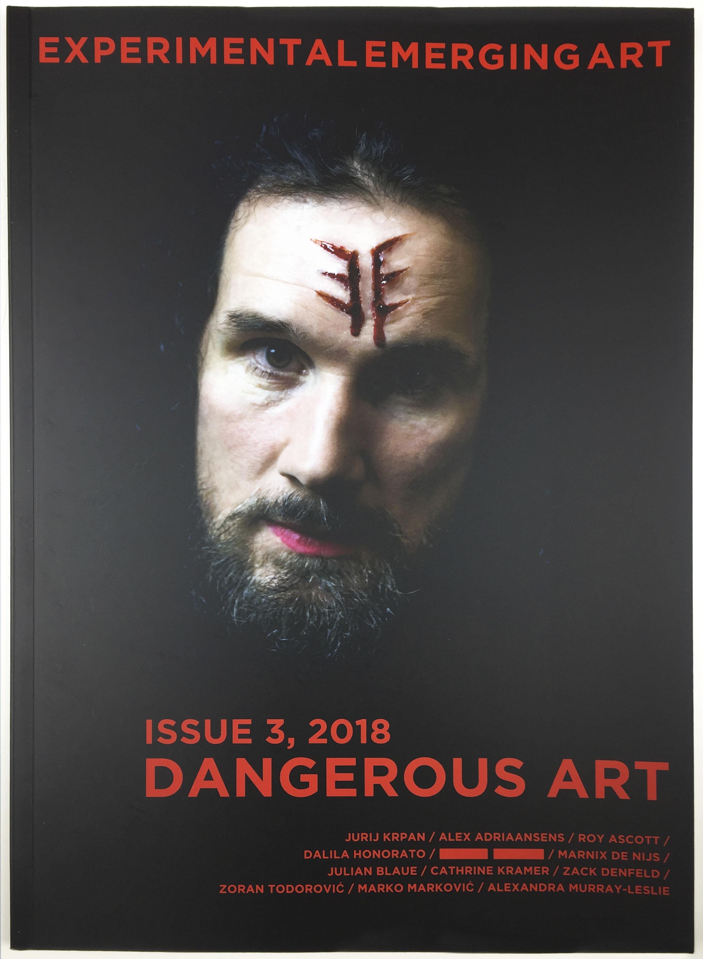 EE Experimental Emerging Art #3 : Dangerous Art  Stahl Stenslie, Zane Cerpina (eds.). TEKS Publishing, 2018. ISSN: 2464-448X  eejournal.no