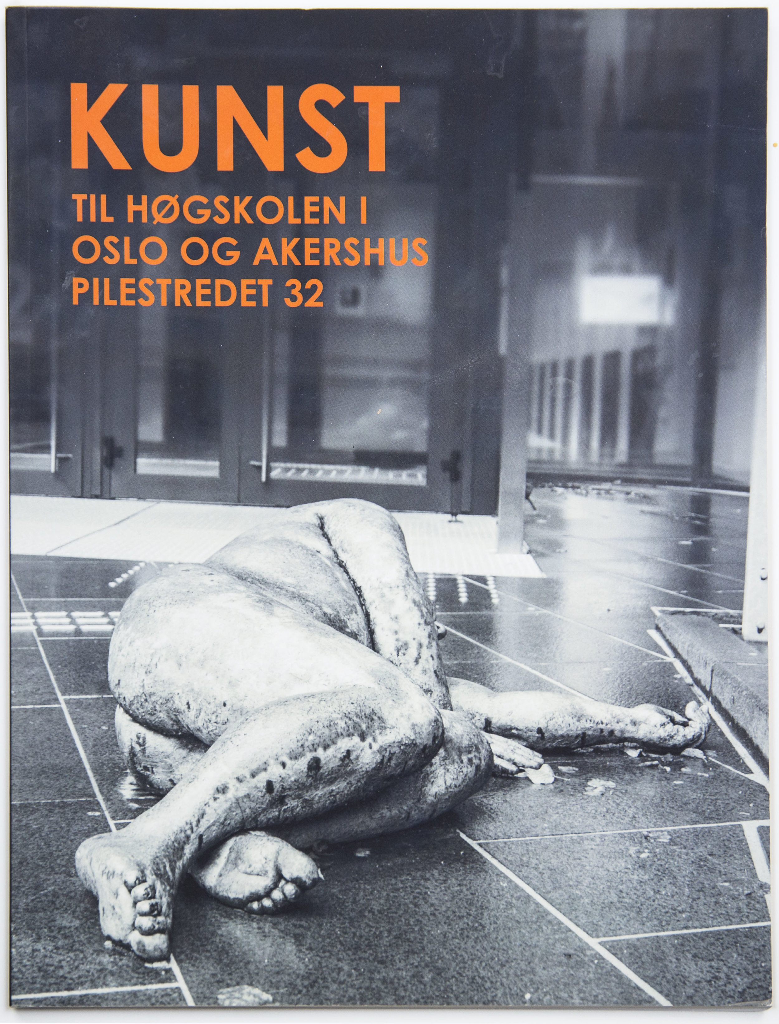 Design / photography for KUNST TIL HØGSKOLEN I OSLO OG AKERHUS PILESTREDET 32 (2017)