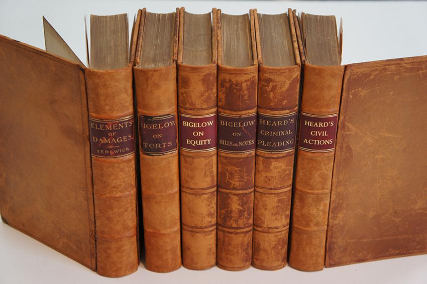 Calvin Coolidge's Law Books