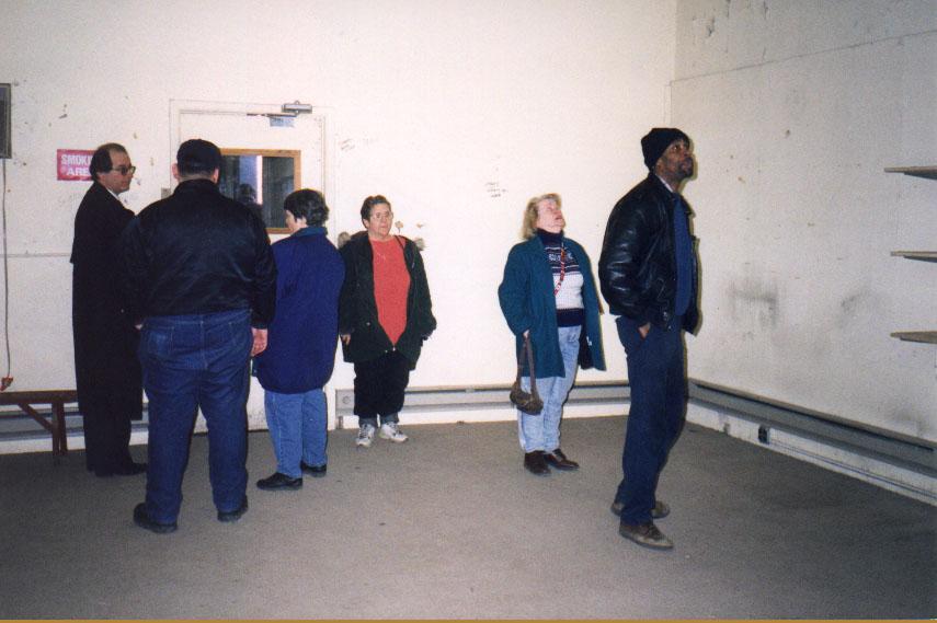 CUMAC STAFF WALKING THROUGH THEIR NEW HOME, 1999
