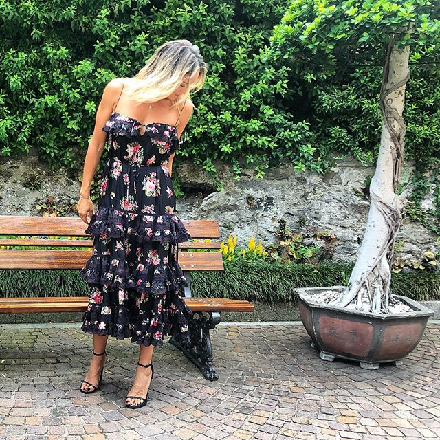 Off to the wedding.. ✨ . #therubinis #italy #lagomaggiore #wedding #love #celebration #zimmermann