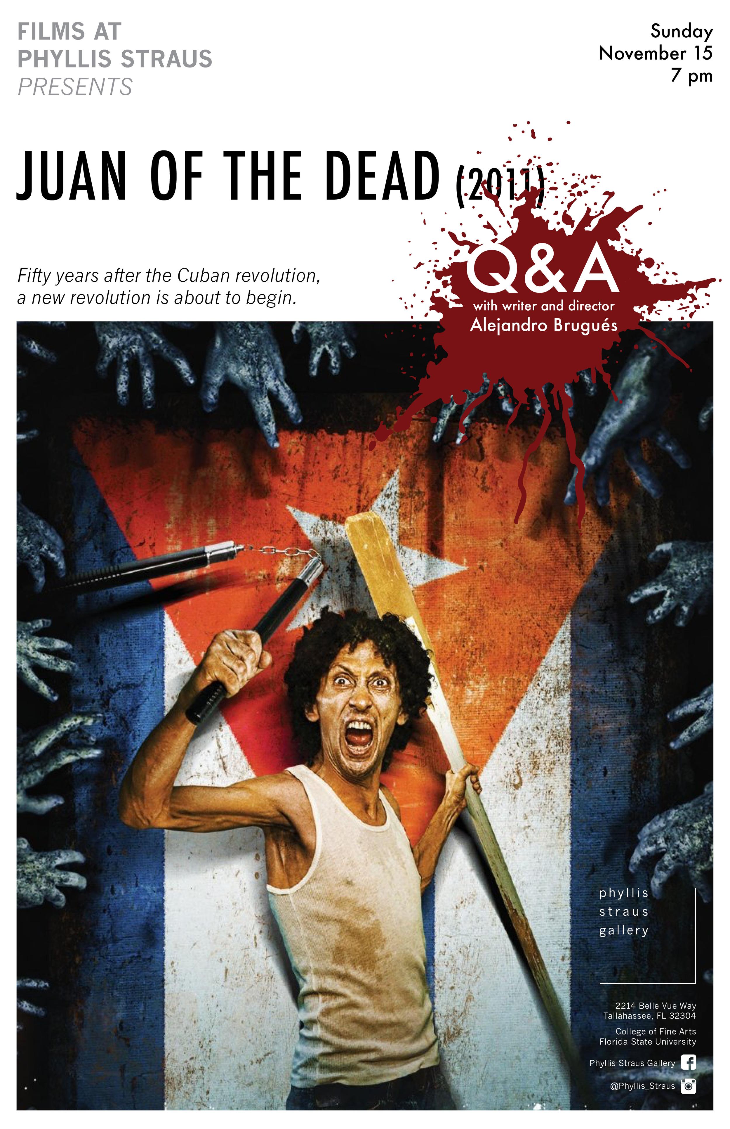 Juan of the Dead Screening Poster