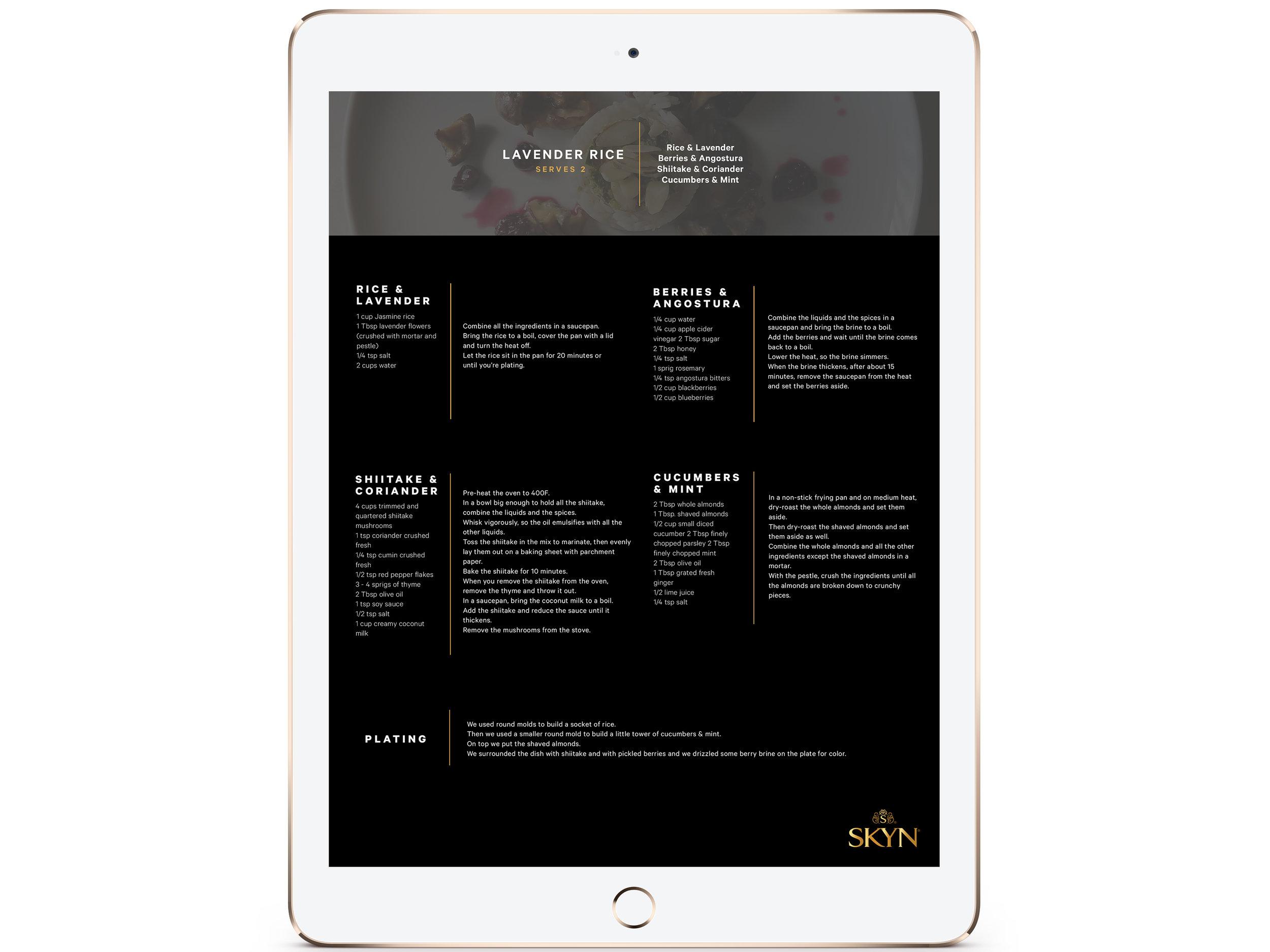 Taste Everything  (UI / UX, Web / Mobile)