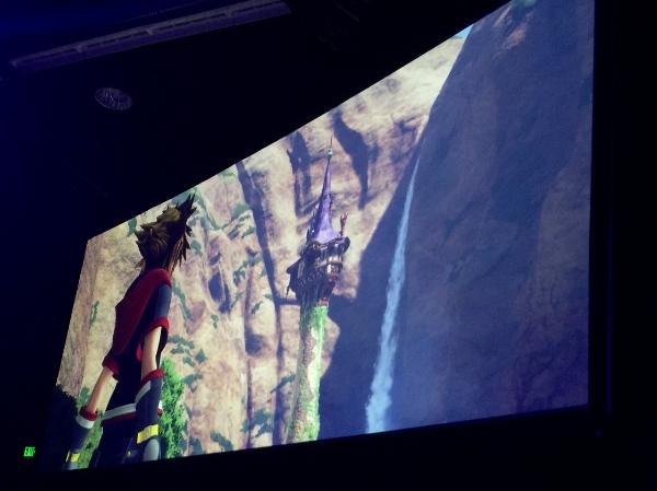 Kingdom Hearts 3 looks stunning.