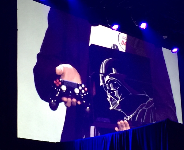 The new Vader edition of the PS4 releasing on 11/17.
