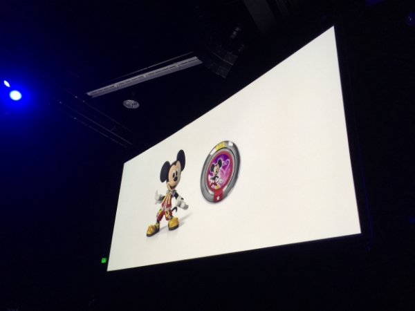 King Mickey is our prize for attending.