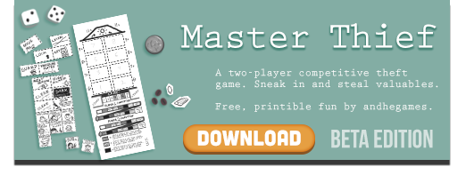 Master Thief promo image