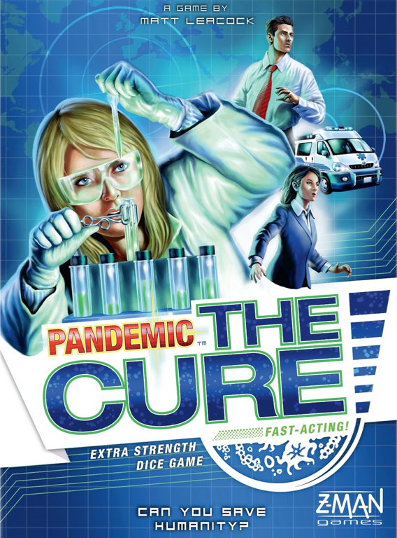 The final product: Pandemic: The Cure.