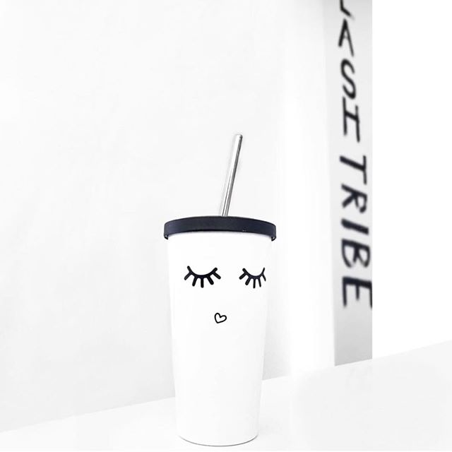 So seeing this just makes me really, really happy after having had a not-so-great day 🤗!! Such a fun little project with the lovely gals over at @thelashprofessional ... it is incredibly rewarding seeing what a design concept looks like as a finished product. You can pick up one of these hot/cold tumblers (because, morning coffee, y'know?!) on their e-comm store now!