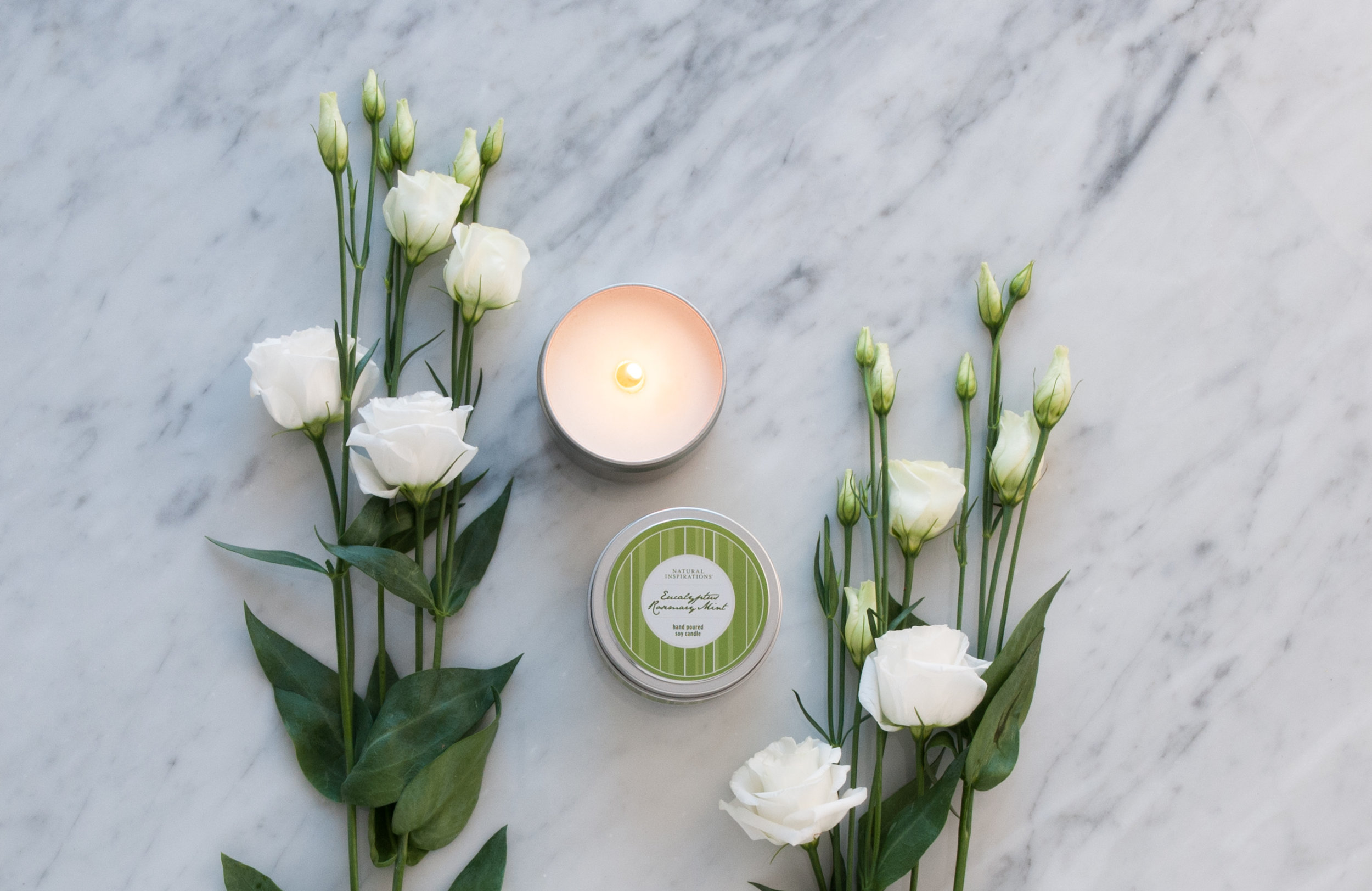 SOOTHING 100% SOY CANDLES