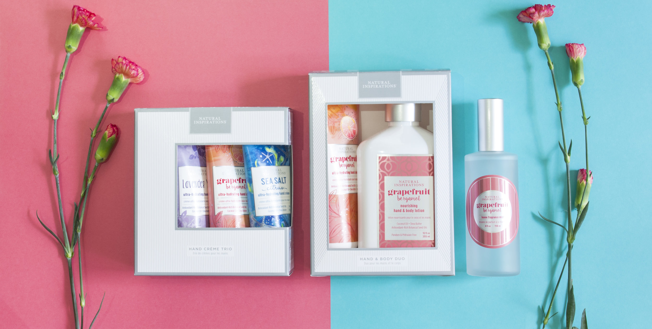 Gift Sets: A Wonderful Way to Pamper your Hostess with the Most-est. - The beautiful gift set features our best-selling 12 oz Lotion and 3.2 oz Hand Crème. Specially packaged in a customized silver metallic box for the perfect gift.